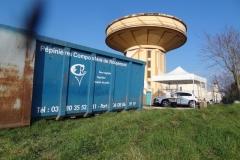 Afforestation du délaissé routier avec la participation de la Pépinière - compostière de Rougemont.