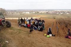 Les écoliers de la classe de Madame DELORME; Ecole Paul COLNET de Marsannay la Côte. Année scolaire 2020-2021.