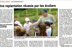 Article de presse de Mr Georges DUVERNET. Le Bien Public. Édition du 12 juin 2018