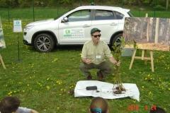 Journée de liaison du 24 avril 2018. Reforestation pédagogique biodiverse de Reulle-Vergy