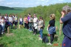 DSJournée de liaison du 24 avril 2018. Reforestation pédagogique biodiverse de Reulle-Vergy