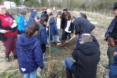 Participation de M. le Maire José ALMEIDA à la plantation de la futire forêt urbaine de Longvic le 14 février 2020