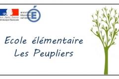 Logotype Ecole publique des Peupliers de Beaune