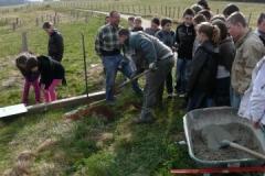 Création forestière d'Arnay le Duc - Signalétique - photo de groupe 02