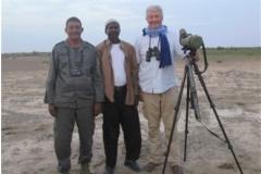 Zone humide du parc national du Diawling. Mission mauritanienne. hivernage 2017-2018