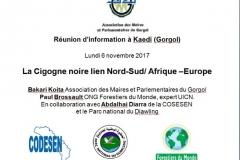 Mission cigogne noire: hivernage 2017-2018 Paul BROSSAULT