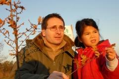 Création forestière pédagogique biodiverse d'Ouges. Année scolaire 2004-2005Noeline Ouges novembre 2007 reussie (Small)