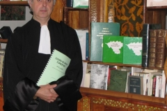 """Michel LAGARDE, Docteur d'""""Etat en droit, spécialiste français du droit forestier."""